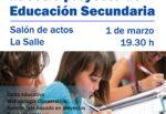 Reunión informativa sobre el proyecto de educación secundaria para padres de 6º de primaria