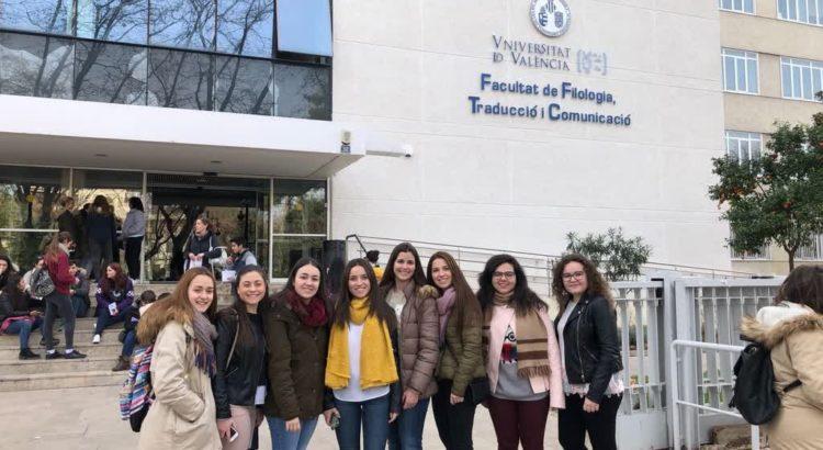 La Salle Benicarló a la Universitat de València