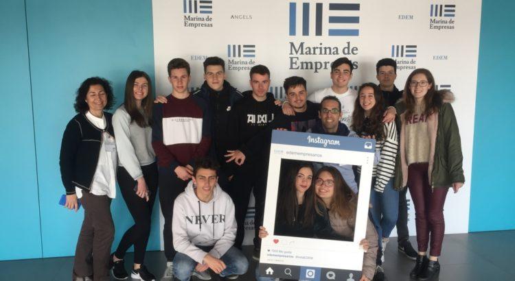 La Salle Benicarló visita EDEM