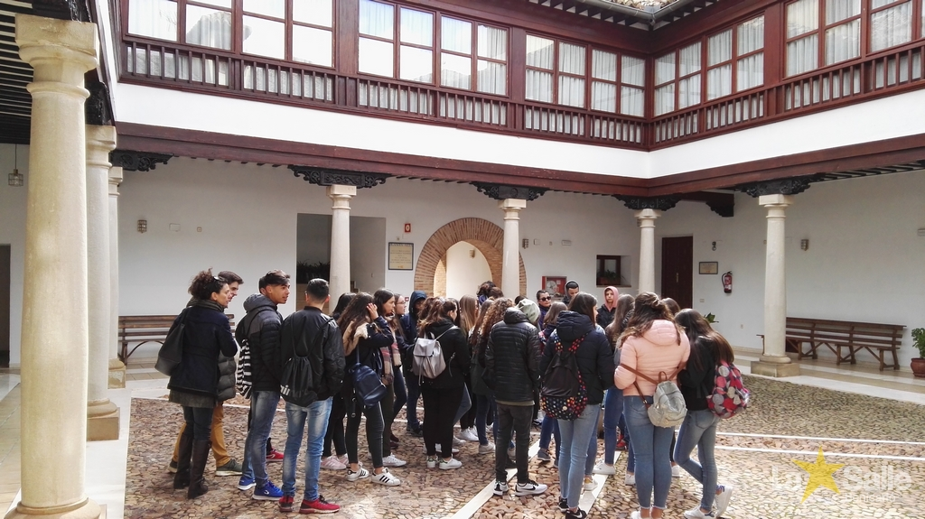 La Salle Benicarló en la ruta del Quijote