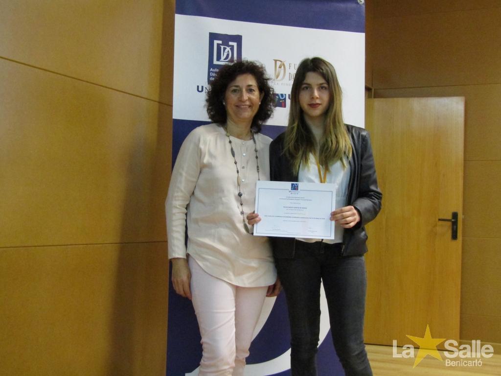 Paula Bosch García de Araoz, clasificada para la Olimpiada Nacional de Economia.