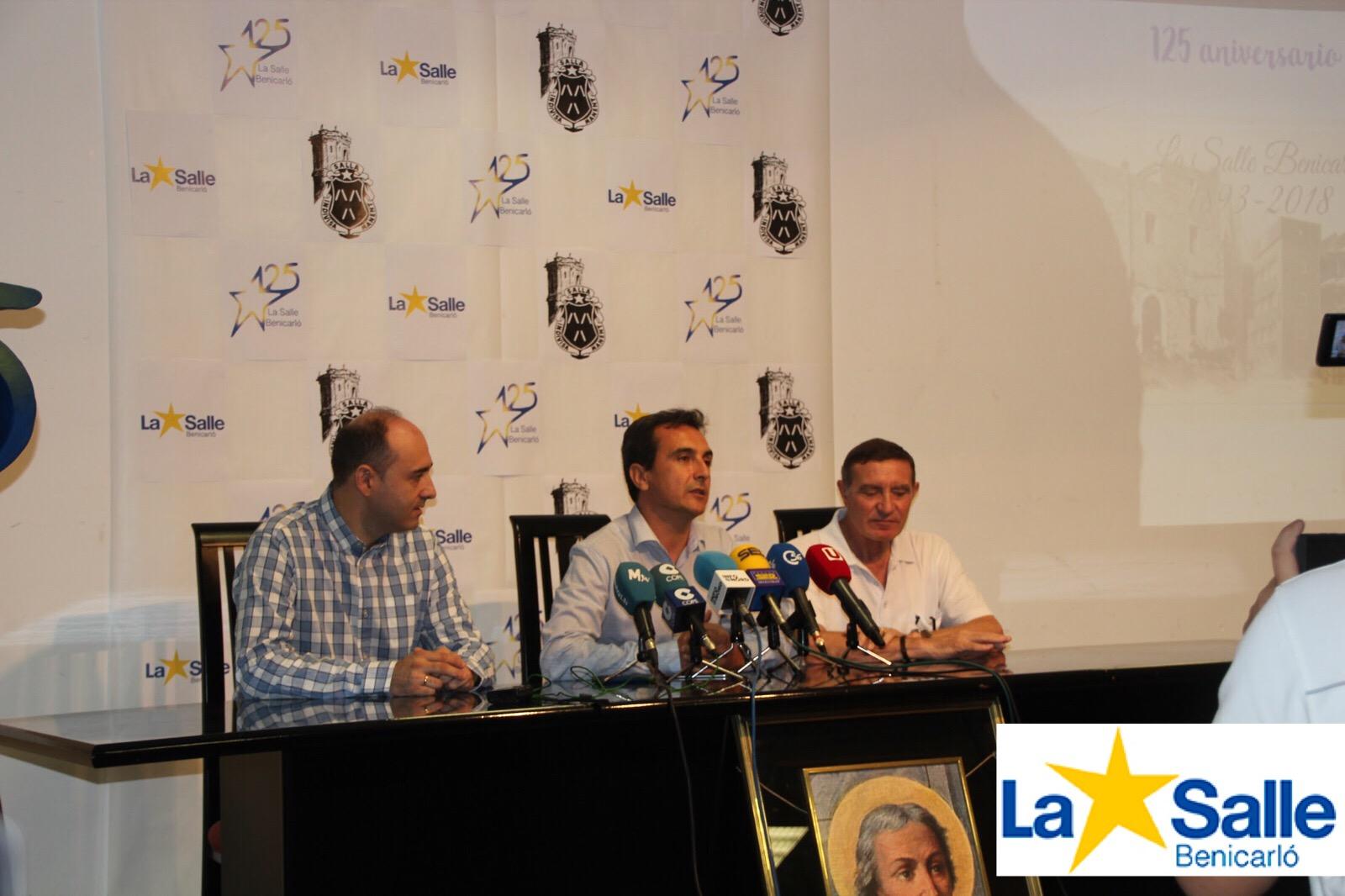 La Salle Benicarló presenta su programa de actos del 125 Aniversario.