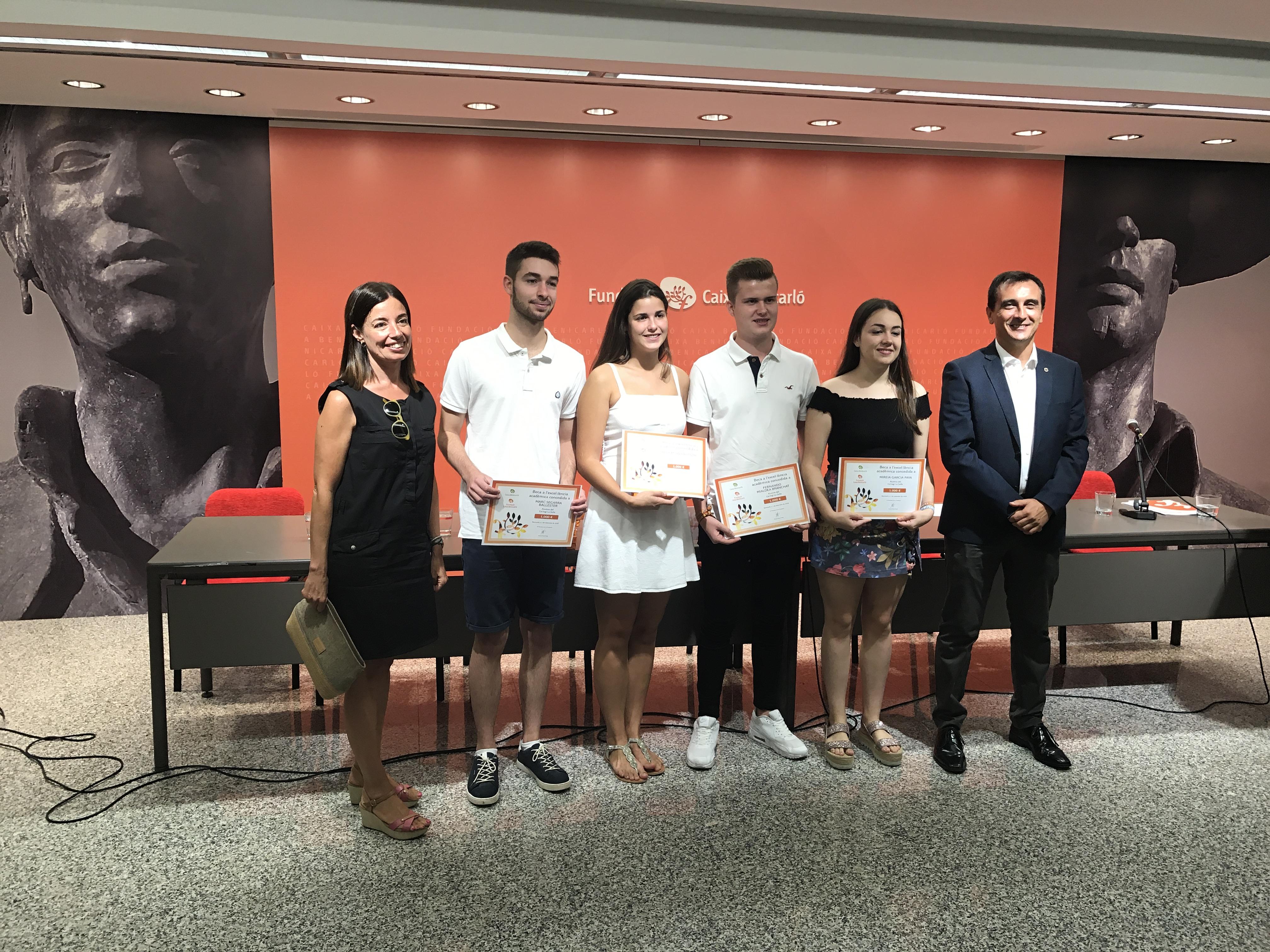 Becas a la excelencia académica Fundació Caixa Benicarló