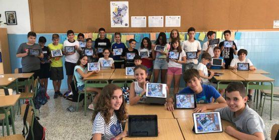 Proyecto tablets en el aula en marcha