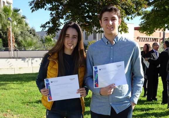 La fundación Sabadell y la UJI premia a sus alumnos con mejores notas de acceso