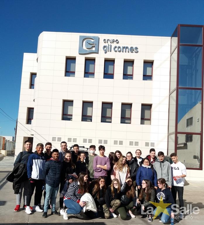 Visitamos la empresa Gil-Comes en Vinarós