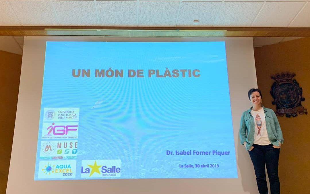 Conscienciació sobre la problemàtica dels plàstics als medi aquatic