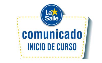 Comunicado de Inicio de curso 2020-2021